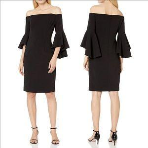 Calvin Klein off shoulder dresses